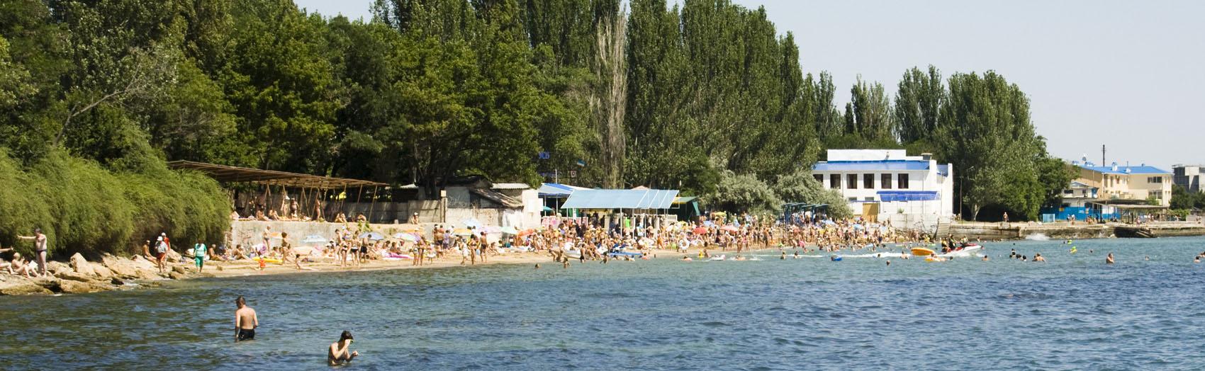 Пляж Динамо - Феодосия.