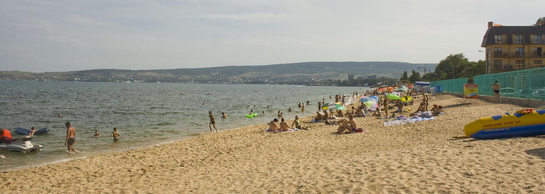 Пляж 2-й городской - Феодосия.
