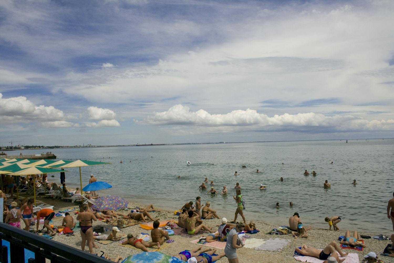 Пляж Камешки